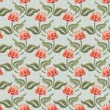 абстрактная картина цветков Стоковые Фотографии RF