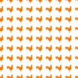 Абстрактная картина цыпленка Стоковое Изображение