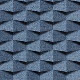 Абстрактная картина paneling - безшовная картина, ткань голубых джинсов иллюстрация штока