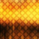 Абстрактная квадратная картина в желтых и померанцовых цветах Стоковое Изображение RF