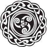 абстрактная кельтская конструкция иллюстрация вектора