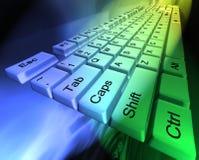 абстрактная клавиатура иллюстрация вектора