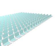 абстрактная компьютерная технология дела предпосылки Стоковое фото RF