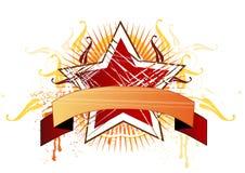 абстрактная конструкция знамени Стоковое Фото