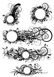 абстрактная конструкция круга Стоковые Фотографии RF