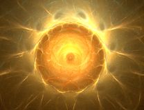 абстрактная конструкция предпосылки солнечная Стоковая Фотография