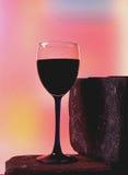 Абстрактная конструкция предпосылки стеклоизделия вина Стоковые Фотографии RF