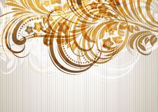 абстрактная конструкция предпосылки флористическая Стоковая Фотография RF