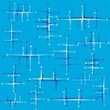 абстрактная конструкция ретро Стоковая Фотография RF