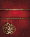 абстрактная конструкция рождества Стоковая Фотография