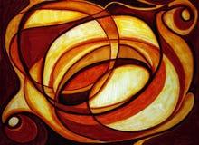 абстрактная конструкция теплая Стоковое фото RF