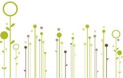 абстрактная конструкция флористическая Стоковые Фото