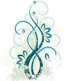 абстрактная конструкция флористическая иллюстрация штока