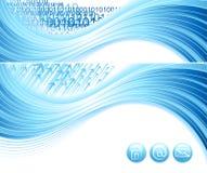 абстрактная конструкция цифровая Стоковое Изображение RF
