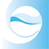 абстрактная конструкция aqua Стоковая Фотография RF