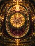 Абстрактная конструкция clockwork steampunk Стоковые Изображения RF