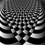 Абстрактная конструкция op искусства Стоковые Фотографии RF