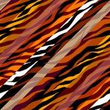 Абстрактная коричневая животная экзотическая картина в стиле заплатки бесплатная иллюстрация