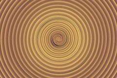 Абстрактная коричневая закрутка Стоковая Фотография RF