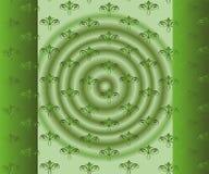 Абстрактная красивая зеленая флористическая предпосылка Стоковые Фотографии RF