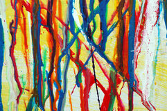 абстрактная краска капания Стоковые Изображения