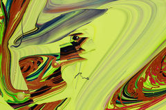 Абстрактная краска красит предпосылку Стоковое Фото