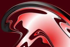Абстрактная красная, белая и черная tonal предпосылка также вектор иллюстрации притяжки corel Стоковая Фотография RF