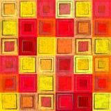 Абстрактная красная ретро безшовная предпосылка Стоковое Изображение