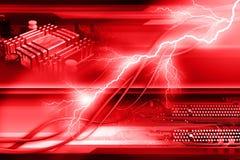 Абстрактная красная предпосылка Стоковое фото RF