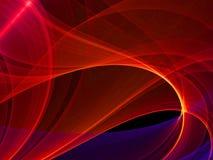 Абстрактная красная предпосылка HD Стоковая Фотография