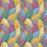Абстрактная, красочная, винтажная, безшовная картина Стоковая Фотография