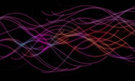 Абстрактная красочная волна предпосылки Стоковое Изображение