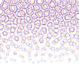 Абстрактная красочная геометрическая картина Стоковая Фотография RF