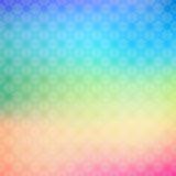 Абстрактная красочная геометрическая предпосылка в цветах радуги Стоковая Фотография