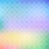 Абстрактная красочная геометрическая предпосылка в ярких цветах Стоковая Фотография