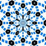 Абстрактная красочная геометрическая предпосылка, квадрат бесплатная иллюстрация