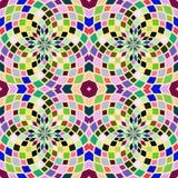 Абстрактная красочная геометрическая предпосылка, различные формы иллюстрация вектора