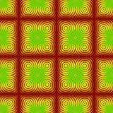 Абстрактная красочная картина плитки стена текстуры кирпича предпосылки старая иллюстрация вектора