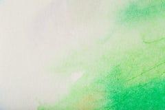 Абстрактная красочная краска акварели Стоковое Фото