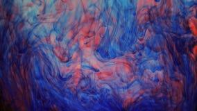 Абстрактная красочная краска в предпосылке воды Стоковое фото RF