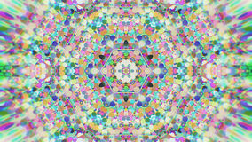 Абстрактная красочная покрашенная Kaleidoscopic графическая предпосылка Футуристическая психоделическая гипнотическая картина фон иллюстрация штока