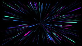Абстрактная красочная предпосылка движения линейной скорости бесплатная иллюстрация