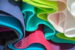 Абстрактная красочная предпосылка одежд Стоковая Фотография RF