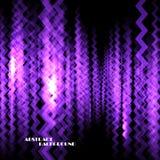 Абстрактная красочная предпосылка с линиями зигзага Стоковые Фото