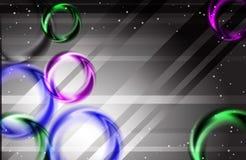 Абстрактная красочная фантазия радуги освещает предпосылку иллюстрация вектора