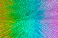 Абстрактная красочная extuded предпосылка Стоковые Изображения RF