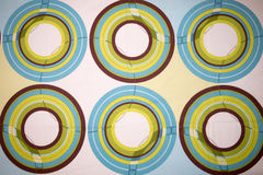 абстрактная кровать конструирует листы Стоковое Изображение RF