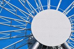 Абстрактная круглая конструкция металла Стоковое фото RF