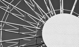 Абстрактная круглая конструкция металла Стоковая Фотография RF