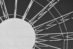 Абстрактная круглая конструкция металла Стоковые Фото